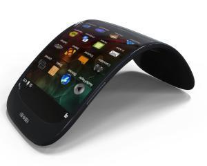 LG a anuntat primul ecran OLED curbat din lume, pentru smartphone-uri