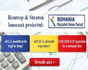 """""""Romania Fiscului bine facut"""" - utopia devine realitate cu ajutorul specialistilor Rentrop&Straton"""