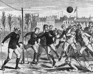 26 decembrie 1860 - s-a disputat primul meci de fotbal intre doua echipe din orase diferite