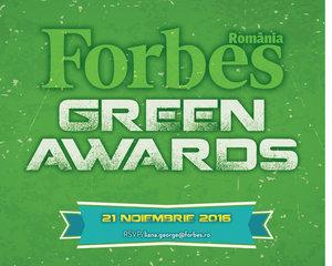 Forbes a premiat cele mai inovative exemple de sustenabilitate din Romania in cadrul Galei Forbes Green Awards, editia 2016