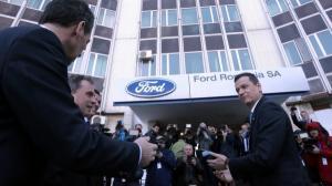 Cu al doilea model in pragul liniei de asamblare, Ford bate obrazul Guvernului ca nu face autostrazi