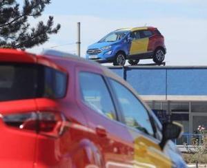 Ford a inceput sa produca la Craiova noul EcoSport