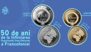 BNR dedica o emisiune numismatica infiintarii Organizatiei Internationale a Francofoniei