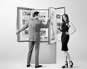 """Bani gheata"": Cel mai scump frigider din lume costa 64.000 euro"