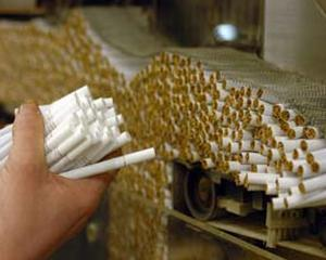 Contrabanda cu tigarete fumeaza 15,3% din piata