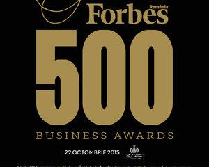 Gala Forbes 500 Business Awards 2015