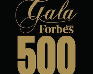 Elita mediului de afaceri romanesc, premiata la Gala Forbes 500 Business Awards