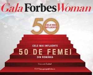Gala Forbes Woman a ajuns in 2016 la a cincea editie