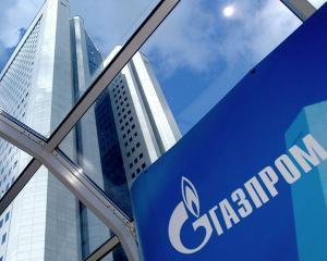 Prin conductele Gazprom, a curs mai putin profit
