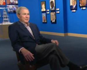George W. Bush, chinuit de talentul pensulei
