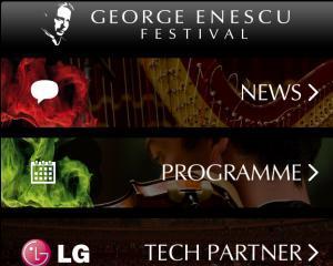 """Festivalul """"George Enescu"""" are propria aplicatie"""