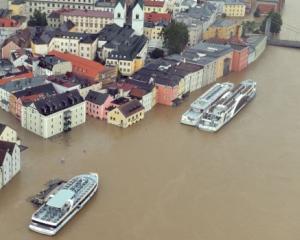 Cresterea economica a Germaniei, scufundata in inundatii
