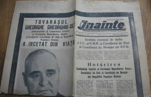 53 de ani de la moartea lui Gheorghe Gheorghiu Dej, omul responsabil de cele mai multe crime politice din sec. XX
