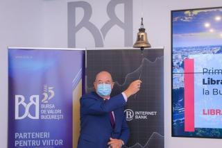 Libra Internet Bank si-a listat obligatiunile de 4,29 milioane de euro la Bursa de Valori Bucuresti