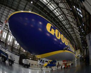 Goodyear a prezentat un nou dirijabil
