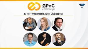 Ultima saptamana de inscrieri Early-Bird la GPeC Trainings 17-18-19 octombrie, Cluj-Napoca!