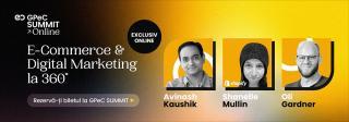 GPeC SUMMIT Online 24-25 Mai: 2 zile de Conferinta, 17 Cursuri Intensive de E-Commerce & Marketing Online, 30+ speakeri de top, 44+ ore de continut practic