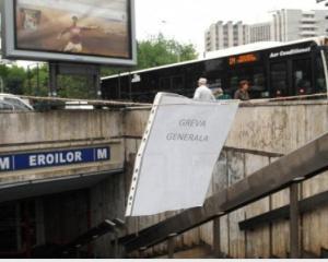 Greva generala la Metrou
