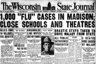Imagini din secolul trecut reflecta realitatea pandemiei de azi: Cum aratau afisele si cum se protejau oamenii in pandemia de Gripa Spaniola