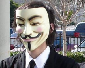 Hackerii Anonymous ii ataca pe afaceristii corupti din Asia
