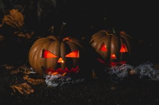 Halloween de vis, coronavirus de cosmar
