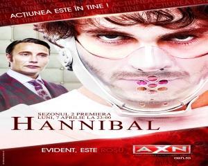 AXN promoveaza sezonul al doilea din Hannibal