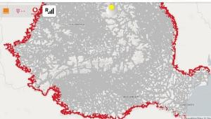 ANCOM a actualizat harta aisemnal.ro cu localitatile care prezinta risc de roaming involuntar
