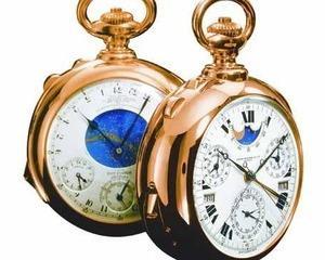 Colectionarii continua sa plateasca bani grei pentru ceasurile Patek Philippe