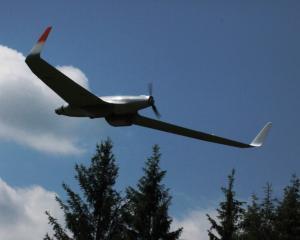 Hirrus, prima drona romaneasca, testata de TeamNet