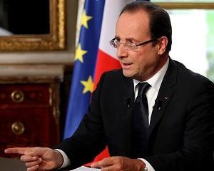 Francois Hollande: schimbarea economica se intampla acum!