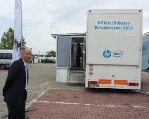 HP Project Odyssey, solutii pentru operarea mission-critical. Camionul Odyssey a oprit si la Bucuresti