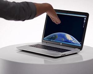 Controlul gestual prin Leap Motion va fi inclus in laptopurile HP