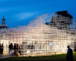 Cloud de la HP pentru Pavilionul anului 2013 al Galeriei Serpentine