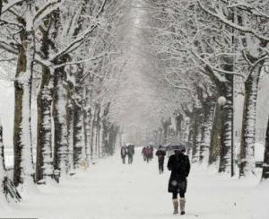 In Romania, ninge cu Coduri galbene