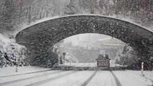 Atentie! Cod galben de ninsori in aproape intreaga tara, inclusiv in Bucuresti