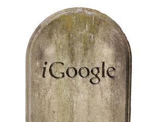 iGoogle va fi inchis la 1 noiembrie