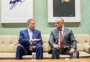 Igor Dodon transmite multumiri speciale poporului roman si presedintelui Klaus Iohannis: Prietenul la nevoie se cunoaste