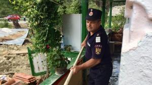 Pagubele produse de tornada scot din buget ajutoare de urgenta de 28.500 lei pentru 13 familii