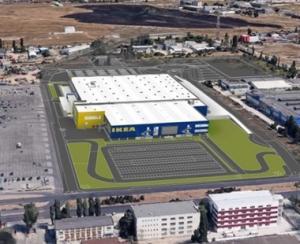 IKEA a inceput sa construiasca al doilea magazin din Romania