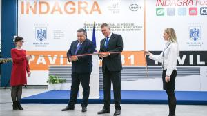 A inceput INDAGRA 2019. Presedintele CCIR si presedintele Romaniei au inaugurat cel mai mare eveniment agricol din tara
