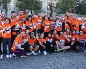 Angajatii ING Bank au alergat pentru a dona