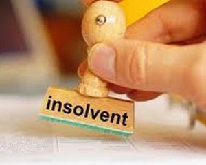 Numarul insolventelor a scazut cu aproape 56% fata de anul trecut