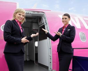 Wizz Air angajeaza insotitoare de zbor in Bucuresti si Cluj