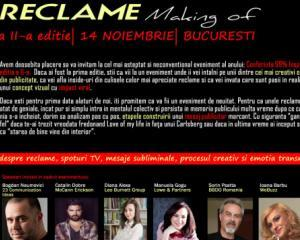Cei mai inspirati creativi din advertising se intalnesc pe 14 noiembrie, la Bucuresti