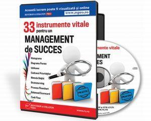 Management de top? 33 de instrumente esentiale iti stau la dispozitie!