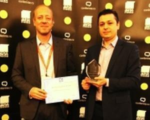 """INTRAROM a fost premiat cu distinctia """"Cel mai bun furnizor de solutii de tehnologie"""", alaturi de Genesys"""