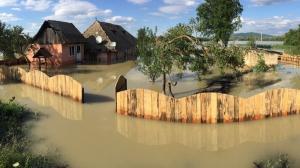 Daune avizate de 3,063 milioane de lei in urma inundatiilor din aceasta vara