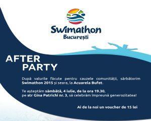 Peste 230 de bucuresteni inoata si strang fonduri sambata aceasta la Swimathon