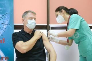Presedintele Iohannis s-a imunizat anti-COVID-19