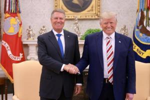 Intalnire istorica Iohannis-Trump: Washingtonul va sprijini Romania pentru a fi ridicate vizele